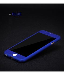 Funda Protectora Alemana 360 Para iPhone 8 Plus V Colores