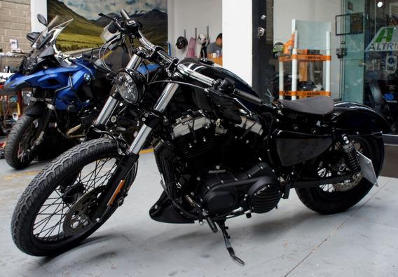 Harley Davidson Sportster Forty Eight 2016 Negro