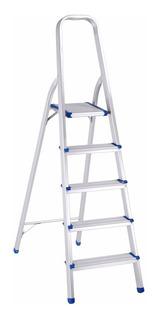 Escalera Aluminio Tijera Familiar 5 Escalones Ferpak Pintumm