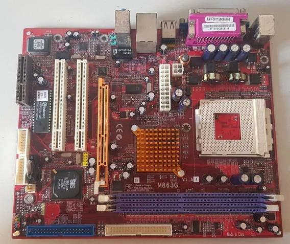 Placa-mãe Pc Chips Com Processador Adm Sem Dissipador/cooler