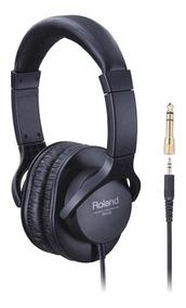 Fone De Ouvido Roland Rh-05 - Com Adaptador P10