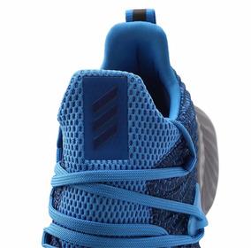 Tenis adidas Alphabounce Azul (#26 Al 27.5 Cm) Con Caja Orig