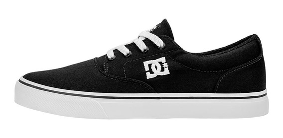 Tênis Dc Shoes New Flash 2 Tx Preto / Branco