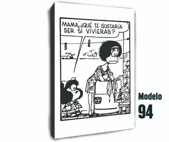 Cuadro Para Mama De Mafalda Feliz Dia De La Madre Mercado Libre