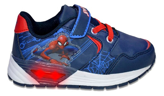 Zapatillas Marvel Casual Abrojo Light Spiderman Niño 1921003