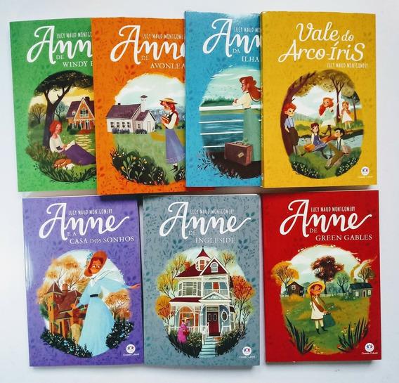 Livros Série Anne - Ciranda Cultural - 7 Volumes