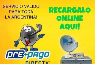 Carga Credito A Direc Tv Bronce 30 Días $ 700