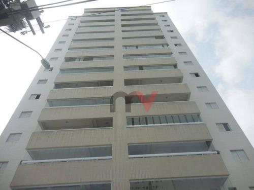 Apartamento Residencial À Venda, Campo Da Aviação, Praia Grande. - Ap0018