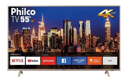 Smart Tv Philco 4k 55 Hdmi Usb + Frete Grátis