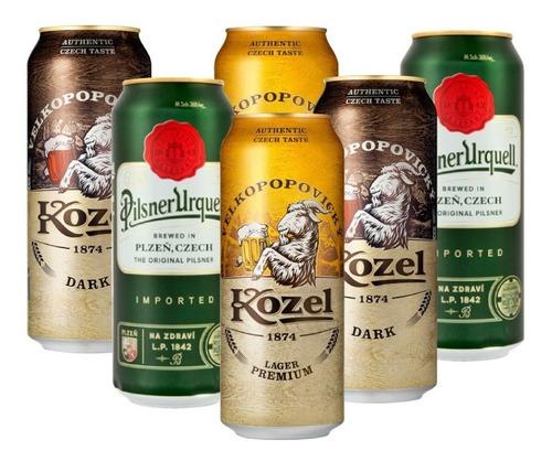 Six Pack De Cervezas Checas De 500 Ml.