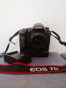 Câmera Canon 7d Com Grip