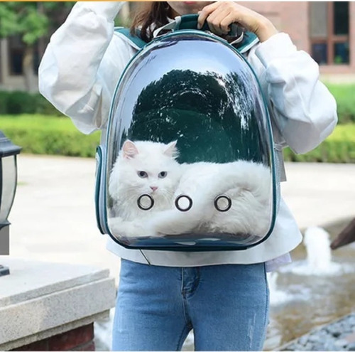 Bolso Transportador Para Mascotas Perro O Gato Tipo Astronau