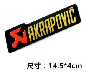 Adesivo Escap Akrapovic Aluminio High Temperature-183