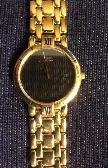 Reloj Citizen Elegance Dorado Vintage