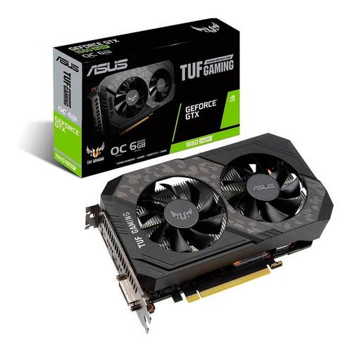 Placa De Video Asus Gtx 1660 Super Oc 6gb Tuf Gaming