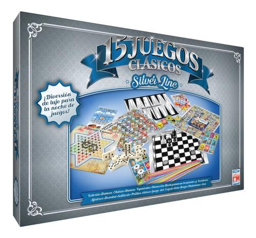 Juegos De Mesa Silver 15 Juegos 1188