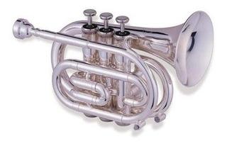 Jupiter 516 Silver Plated Pocket Trumpet ©