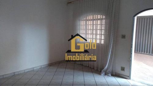 Casa Com 2 Dormitórios Para Venda, 85 M² Por R$ 212.000,00 - Campos Eliseos  - Ribeirão Preto/sp - Ca0827