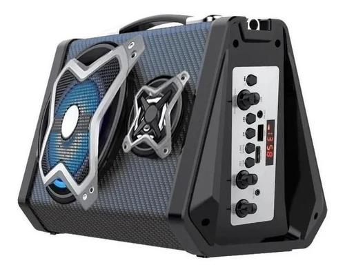 Alto-falante Multilaser SP314 portátil com bluetooth preto 127V/220V