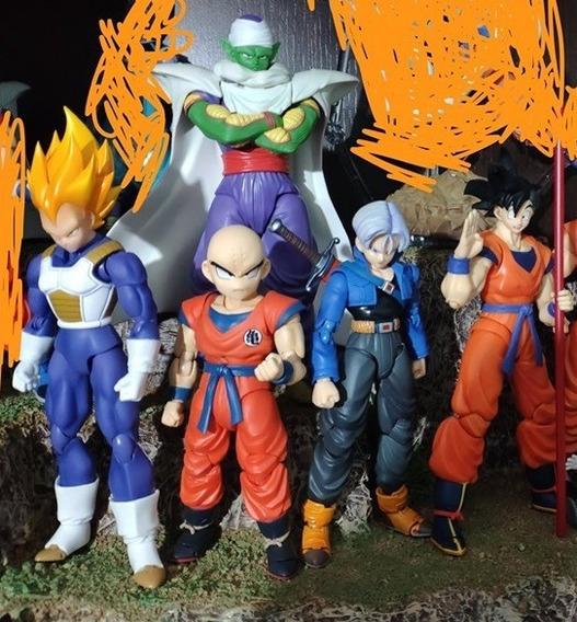 Coleção Dragon Ball Sh Figuarts Bandai