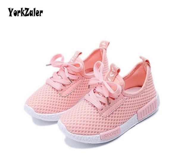 Sapato Esporte Respirável Menina Importada Ref22