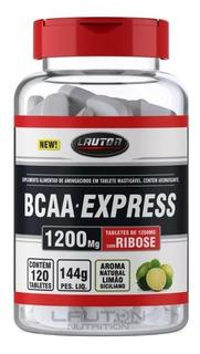 Bcaa Express 120 Capsulas 1200mg Lauton Pronta Entrega