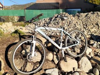 Bici Mountain Bike Rodado 26, 21 Cambios, Frenos A Disco