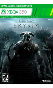The Elder Scrools V : Skyrim - Xbox 360 - Midía Digital