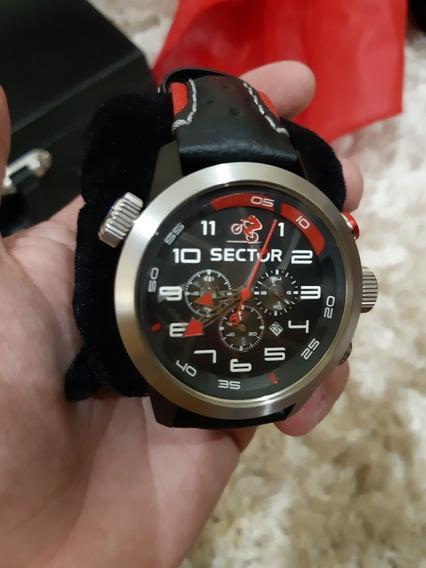Relógio Sector Cronógrafo Oversize Ws31768v