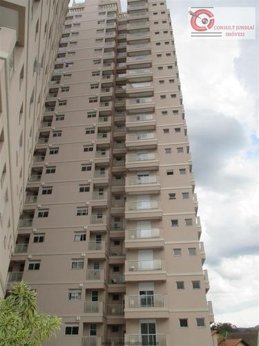 Imagem 1 de 29 de Apartamentos À Venda  Em Jundiaí/sp - Compre O Seu Apartamentos Aqui! - 1393938