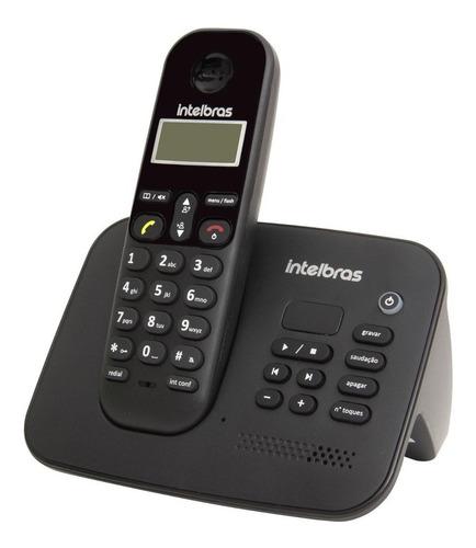 Imagem 1 de 9 de Telefone Sem Fio Digital Ts 3130 Com Secretaria Eletrônica