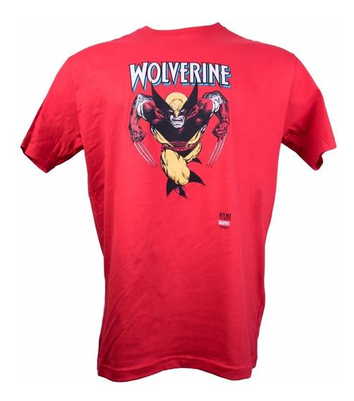 Remera, Marvel, Wolverine