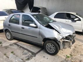 Chocado Fiat Palio 1.3 Sx Con Gnc Full En Marcha