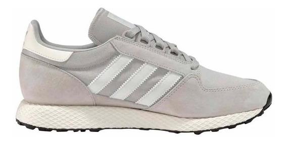 Zapatillas adidas Forest Grove Gris/blanco - Corner Deportes