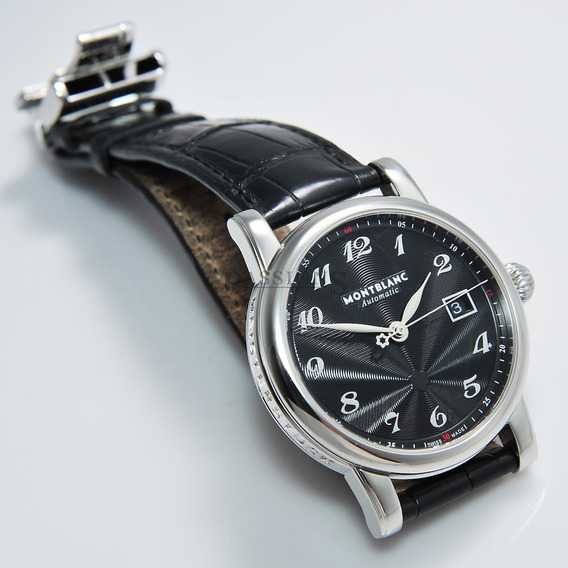 Relógio Montblanc Star 40mm Ref.7236 Automático Certifcado.