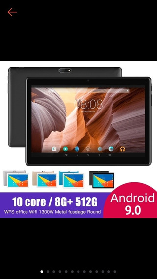 Tablet Mediatek 512gb,8ram,2chip,entrada Pra Cartão E Etc...