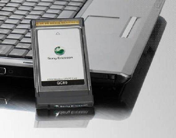 Modem Placa Wifi Gprs/edge/3g Sony Ericsson Gc89 Pcmcia Card