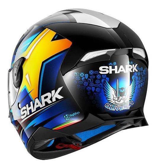 Capacete Shark D-skwal Miguel Oliveira Motogp + Brinde Loja