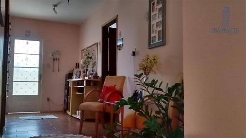 Casa Com 3 Dormitórios À Venda, 120 M² Por R$ 350.000,00 - Vila Monte Alegre - Paulínia/sp - Ca0947