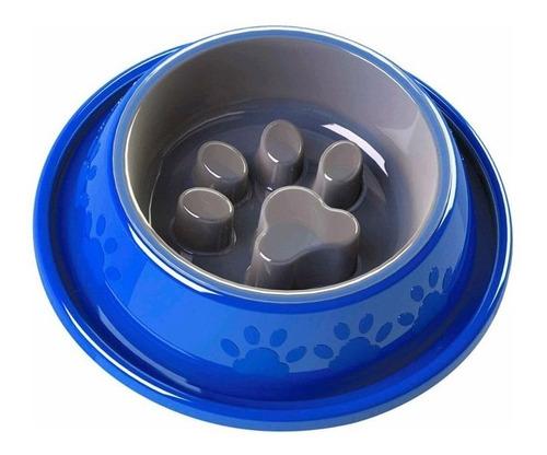 Comedouro Coma Melhor 5 Em 1 Lento Para Cachorros Gatos Cães