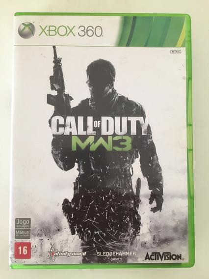 Xbox 360 - Call Of Duty Mdw 3 - Midia Física