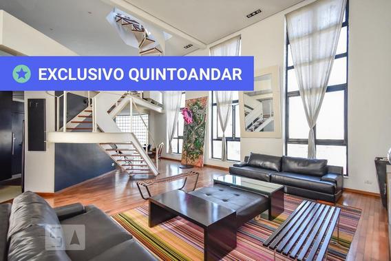 Apartamento No 7º Andar Mobiliado Com 1 Dormitório E 2 Garagens - Id: 892969898 - 269898