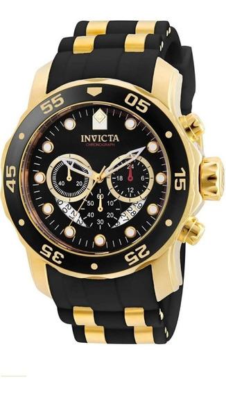 Relógio Invicta Pro Diver Dourado Masculino 6981