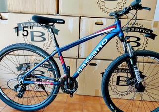 Bicicleta Mountain Bike Aluminio 27.5 Suspensión 24v.shimano