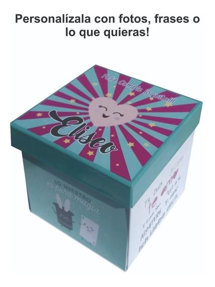 Caja Personalizada San Valentín Regalo Original Cumpleaños