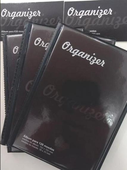 Belíssimo Álbum Para 120 Moedas - Organizer !!!