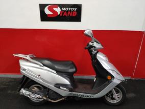 Suzuki Burgman 125i 125 I 2013 Prata