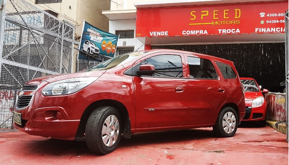 Gm - Chevrolet - Spin 1.8 Lt 5l - 2014 - Aceito Troca -finan