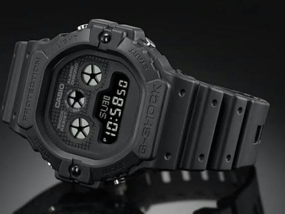 Reloj Casio G-shock Modelo Dw-5900 Caratula Oscura