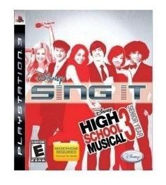 Jogo Lacrado Da Disney Sing It High School Musical 3 Pra Ps3